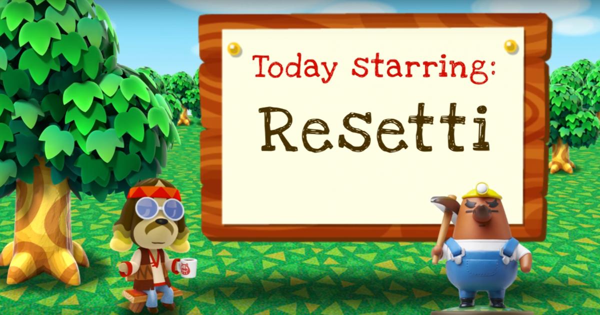 Nintendo confirms Mr. Resetti lost his job thanks to 'Animal Crossing: New Horizons'