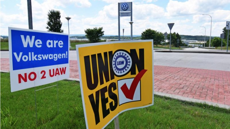 VW Chattanooga plant workers reject UAW