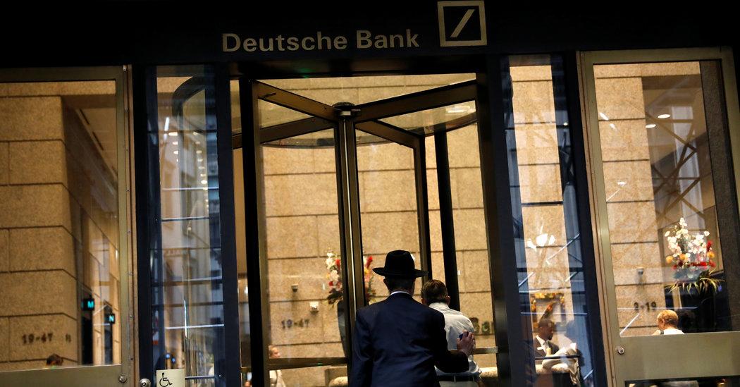 Deutsche Bank Begins Turnaround Drive by Firing Workers