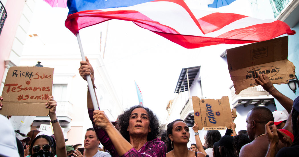 'Too Many Years of Putting Up and Holding Back': Puerto Ricans Say They've Had Enough