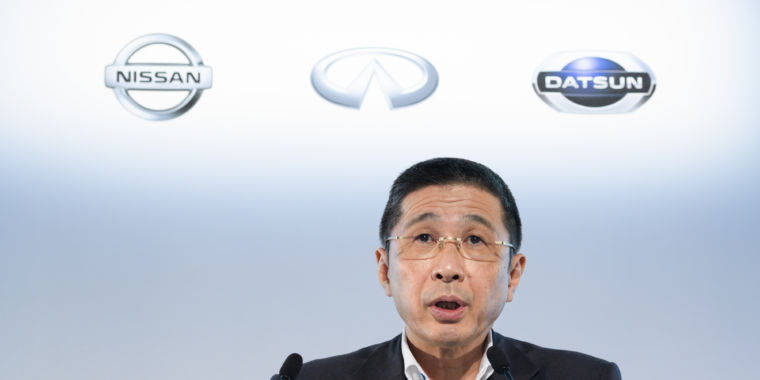 Nissan plans 12,500 layoffs after operating profits fall 98 percent