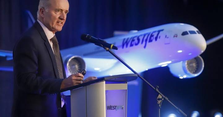 WestJet CEO says Boeing 737 Max grounding a 'substantial loss' ahead of buyout – Global News