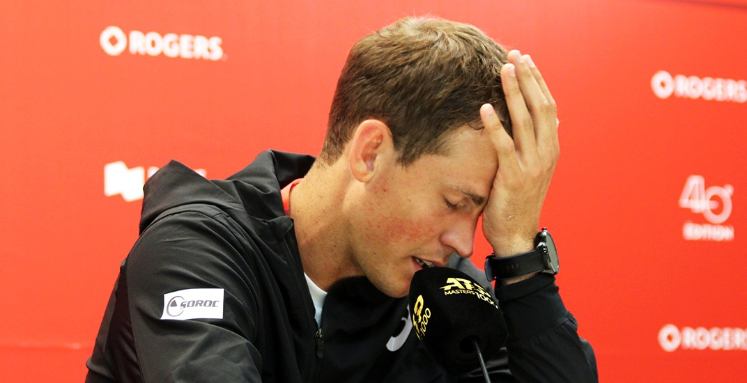 Canadian tennis pro Pospisil upset about player earnings   Offside – Daily Hive