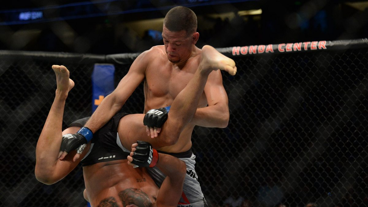 Nate Diaz scores unanimous decision victory vs. Anthony Pettis in return at UFC 241