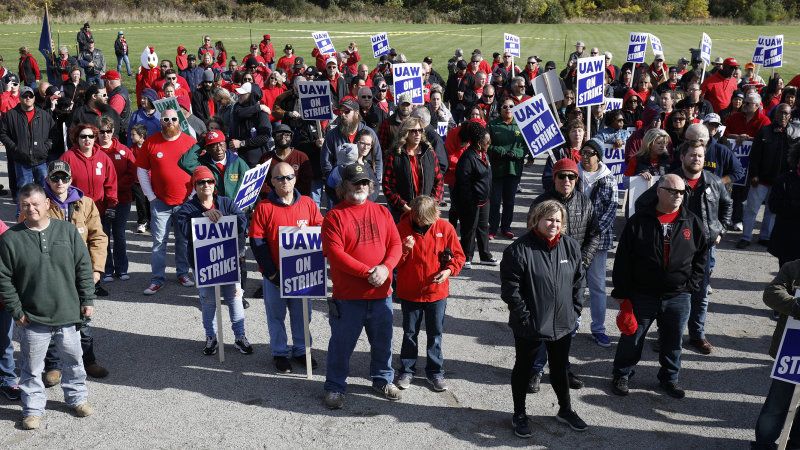 GM CEO Mary Barra joins UAW talks; deal to end strike may be near
