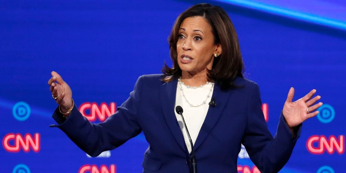 Kamala Harris's campaign is facing an internal revolt over disastrous management that's taken her out of the top tier of contenders