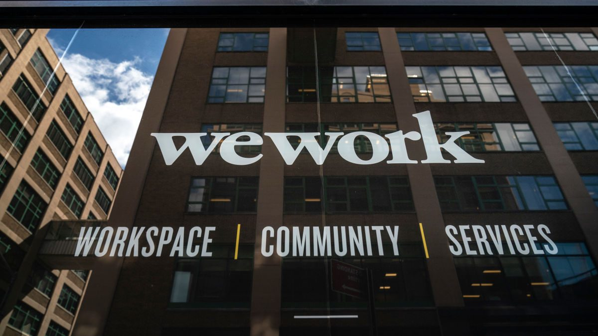 WeWork's Reviewing 100 Leases to See Where It Can Bail