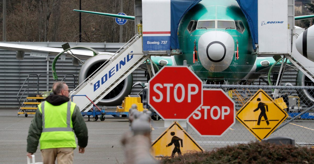 Boeing Will Halt Production of the Grounded 737 Max in January