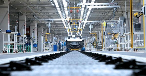 Volkswagen Is Accelerating One Of The World's Biggest Smart-Factory Projects
