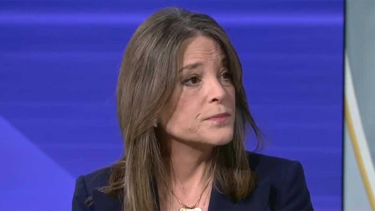 Marianne Williamson lays off ALL staff…