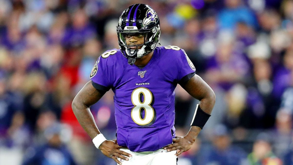 Lamar struggles as Ravens shocked by Titans