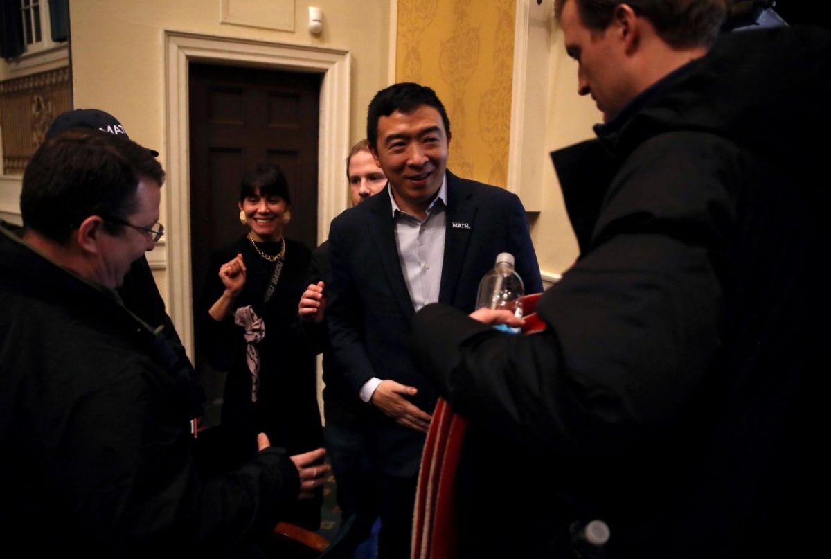Andrew Yang fires dozens of campaign staff after Iowa caucuses