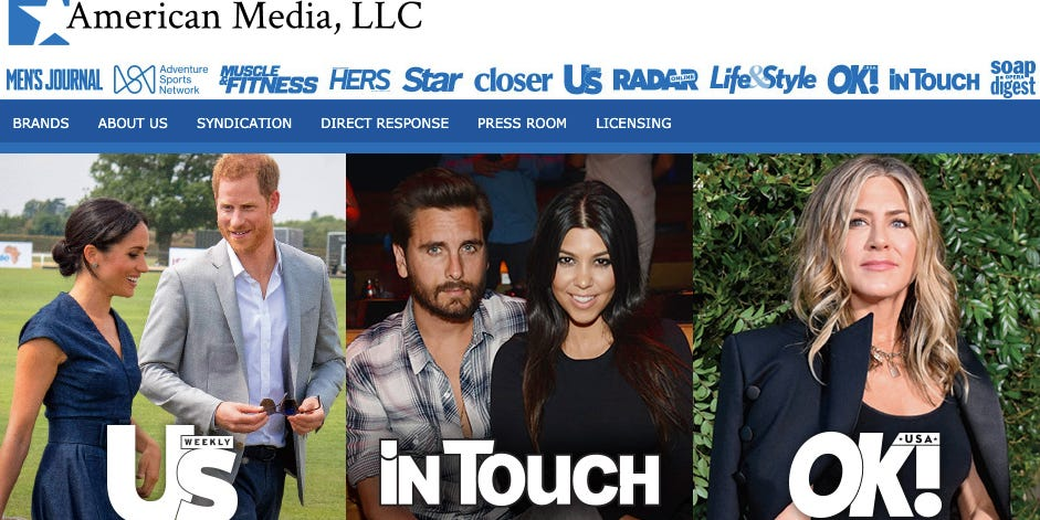Tabloid and magazine publisher American Media, Inc. continues cuts, laying off 23 people Monday