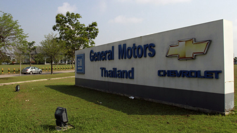 GM to lay off 1,500 in Thailand following sale to Great Wall