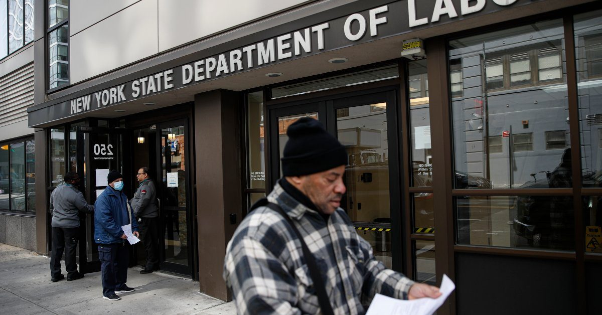 Number of Unemployed Americans Up by 70,000 as Coronavirus Starts to Take Hold of the Economy