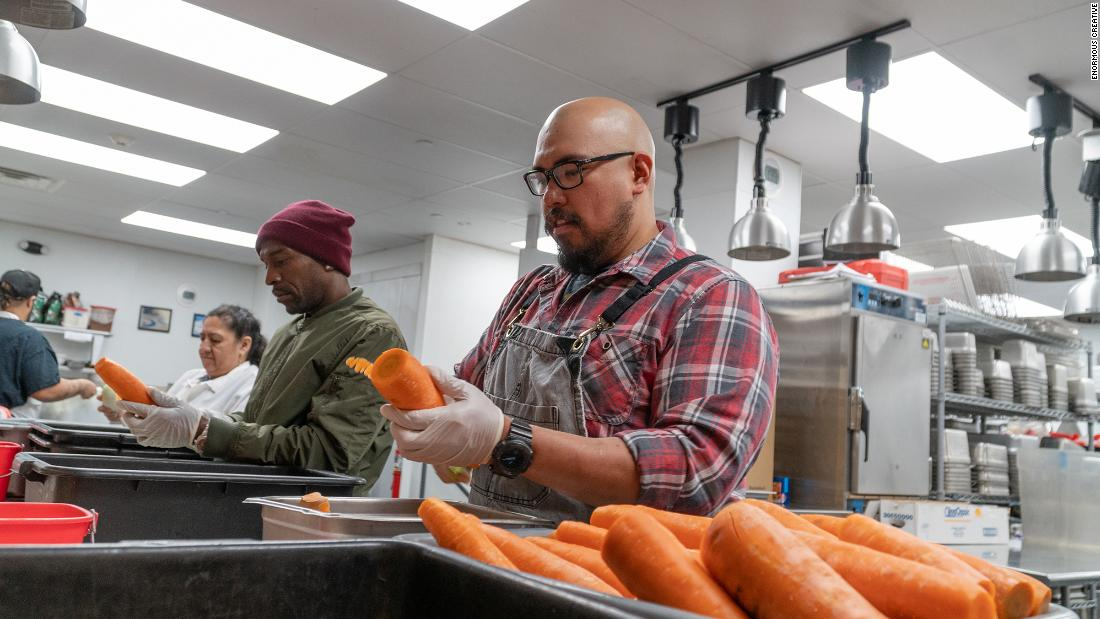 Chefs across the US are transforming their restaurants into relief centers for laid off workers
