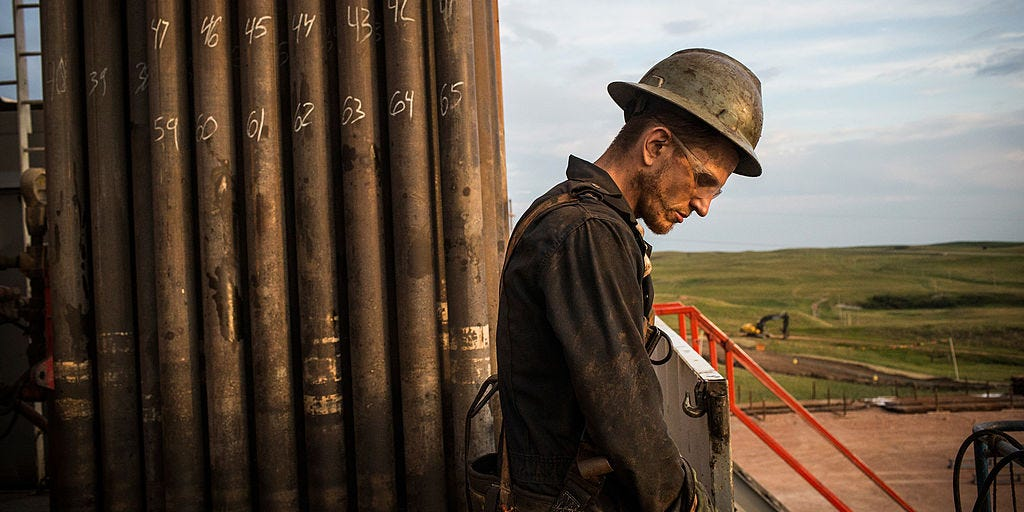 More than 1 million oil workers are set to lose their jobs this year, a new analysis reveals