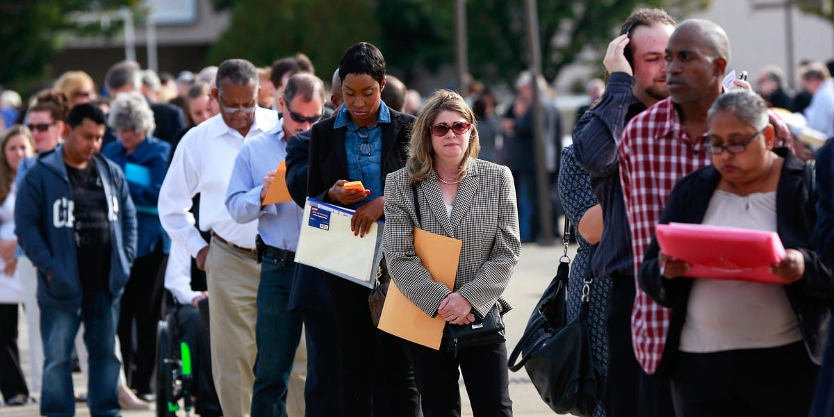 A record-shattering number of Americans filed for unemployment last week — here's what the situation looks like in each state