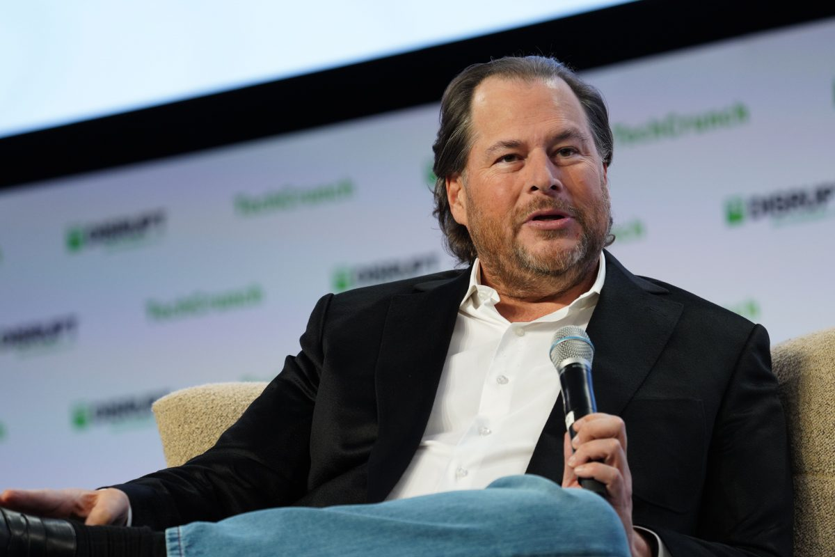 Salesforce's Benioff pledges no 'significant' layoffs for 90 days