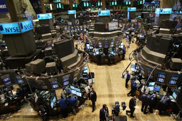 Stocks fall sharply Friday morning as the mid-week recovery falls short