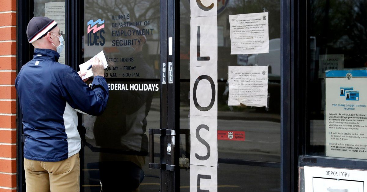 33 Million Americans Have Filed for Unemployment Since Start of Coronavirus Outbreak