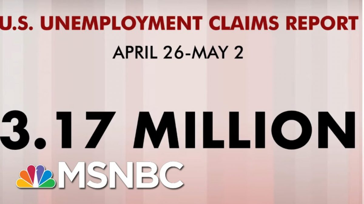 33 Million Americans File For Unemployment In 7 weeks   Morning Joe   MSNBC – MSNBC