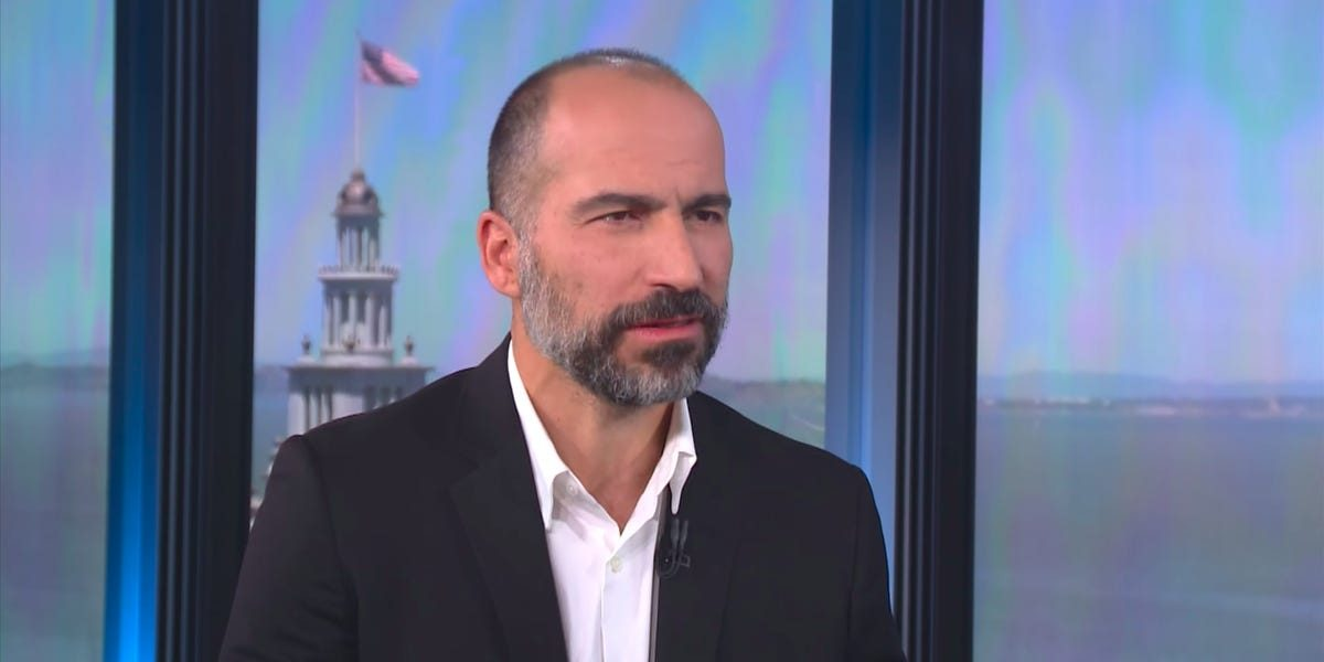 In a gesture of solidarity, Uber's CEO and board of directors have given up their cash salaries for 2020 as the company cut nearly 7,000 workers