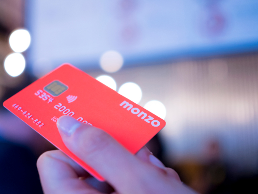 Monzo confirms £60M down round, with a new pre-money valuation of £1.24B