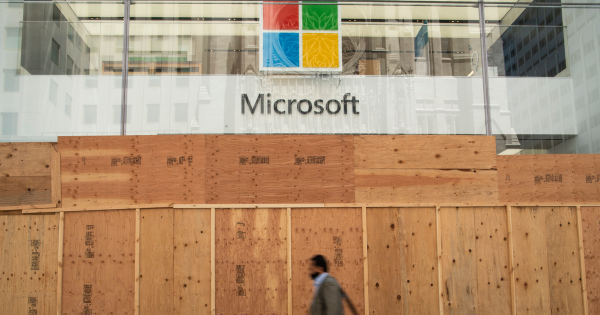 Remember Microsoft Stores? Well, they're all closed forever now.