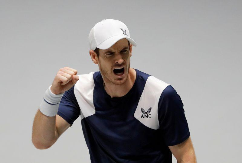 Tennis-Murray withdraws from third-place match at Battle of the Brits – Reuters