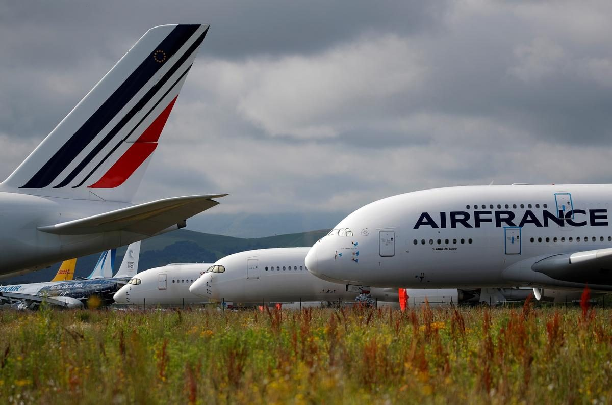 Air France eyeing 6,500 job cuts by 2022 – sources – Reuters