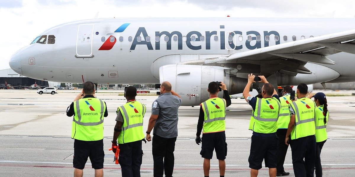 American Airlines is notifying 25,000 workers of possible layoffs — almost 20% of the company (AAL)