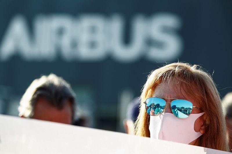Thousands of Spanish Airbus workers protest layoff plan – Reuters