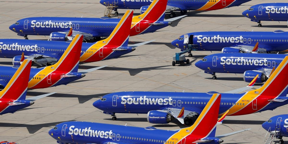 Southwest CEO says airline is 'in intensive care' but isn't planning to lay off or furlough workers for now