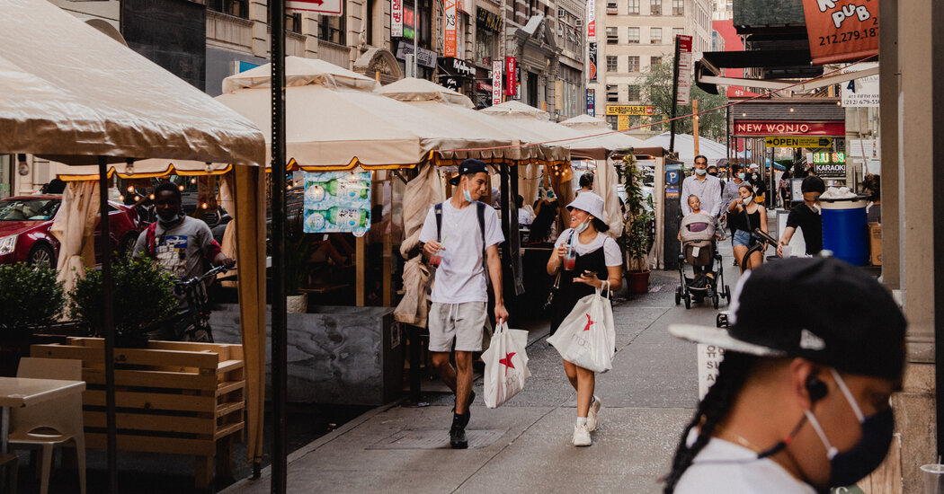 The Hottest Commodity in Pandemic New York? Fresh Air