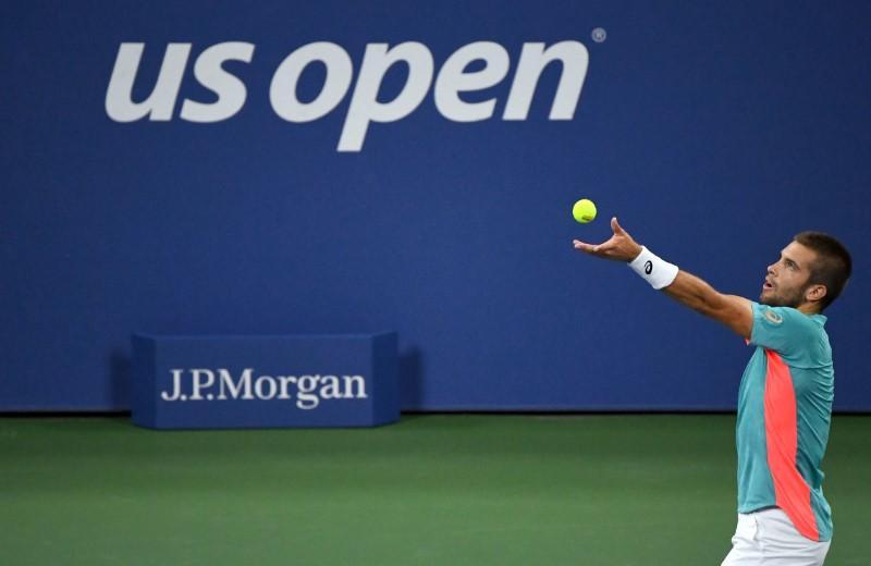 Coric comeback sends Tsitsipas tumbling out of U.S. Open – Reuters India